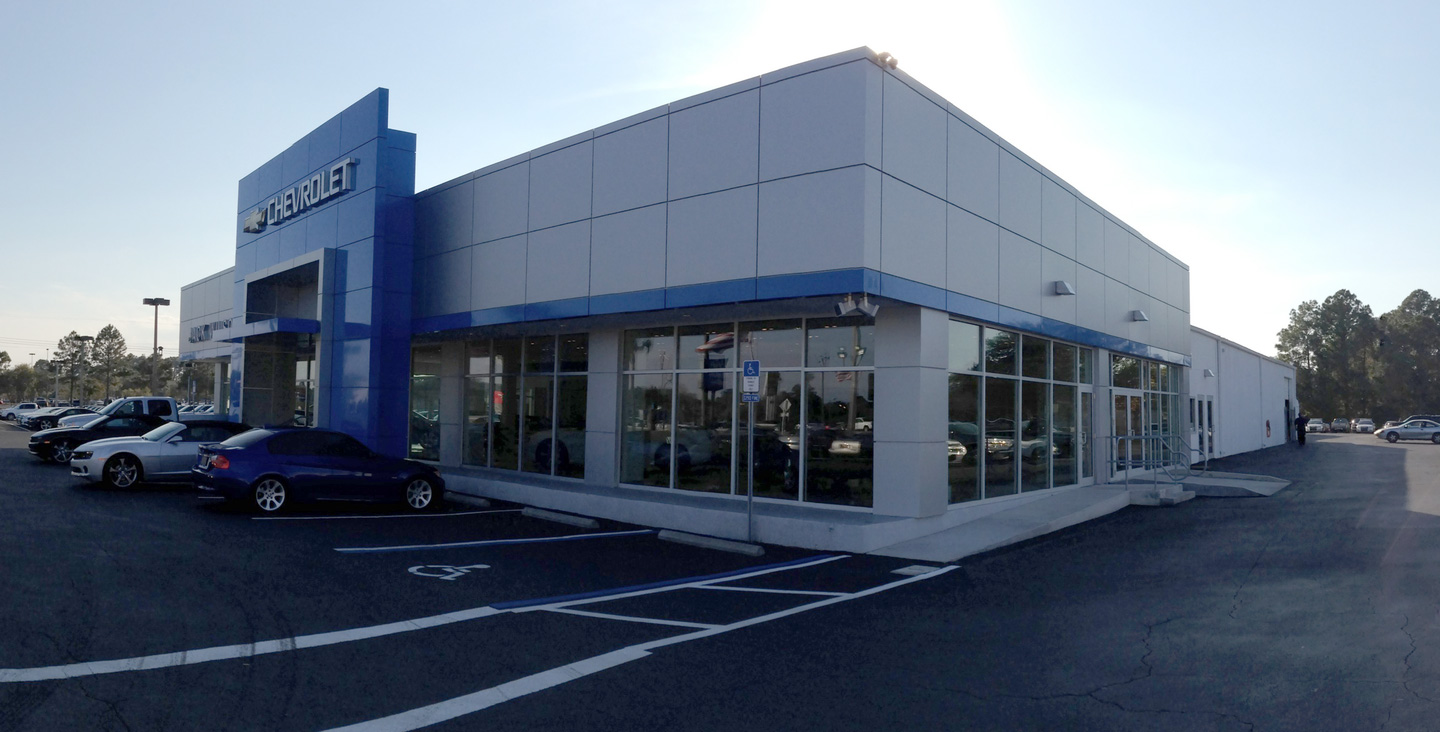 Jack Wilson Chevrolet General Automotive Contracting Project