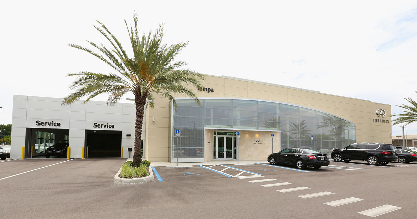 Infiniti Of Tampa >> Renovation And Expansion Of The Infiniti Dealership Of Tampa