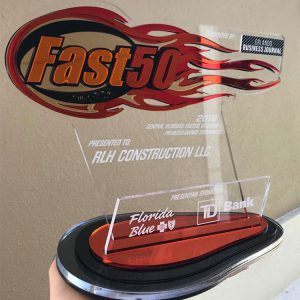 The RLH Fast 50 award